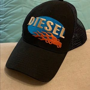 Diesel black baseball hat💥